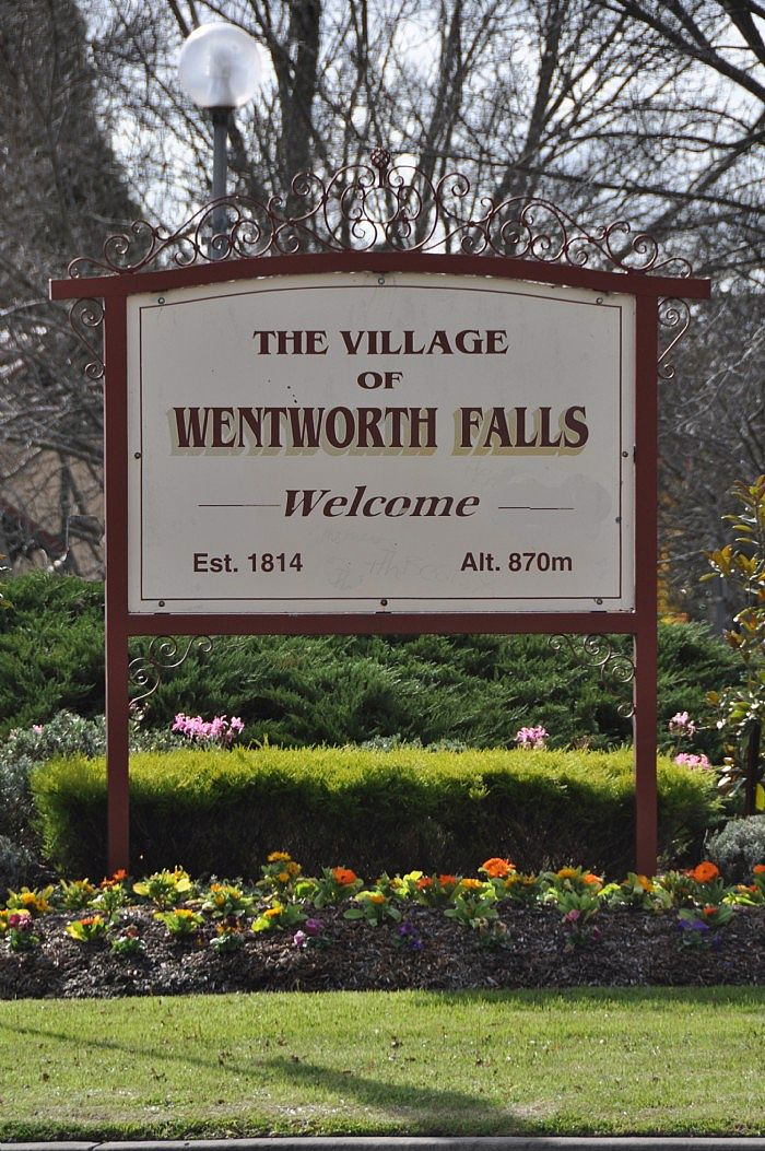 Welcome to Wentworth Falls